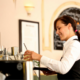 front of house food safety, customer service for waitresses, bar staff, food servers