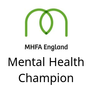 mental health champion, mental health first aid england