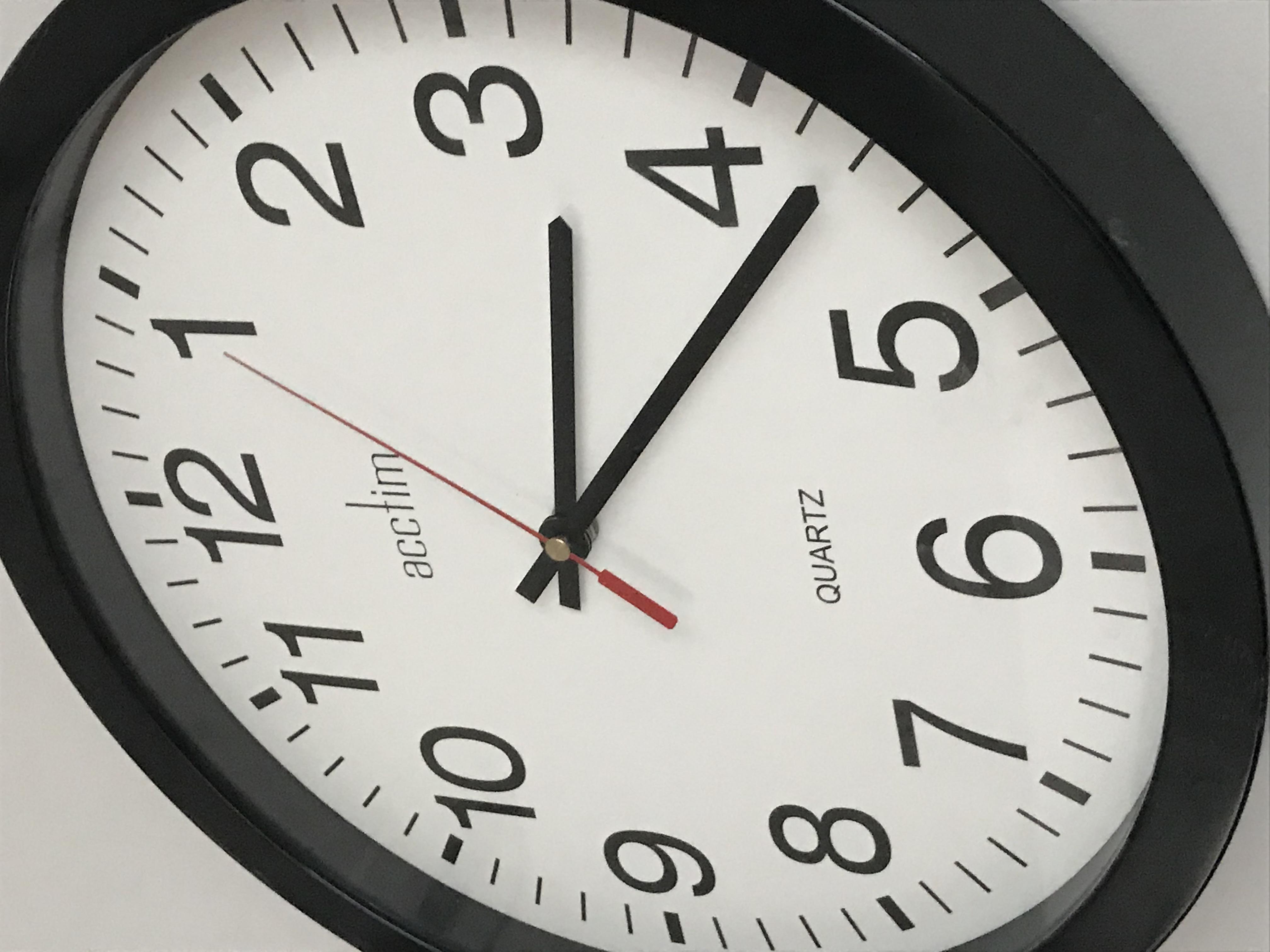 Team productivity, clock, time