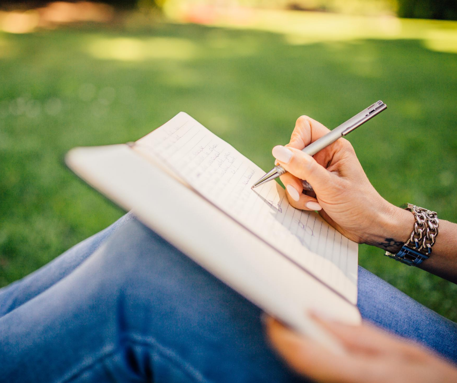 preparation starts at home, outside writing diary