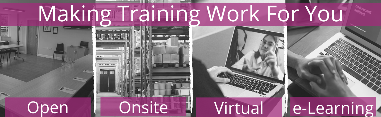 Training Provider using flexible training methods